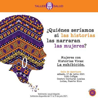 """Ofrecen en Loíza exhibición de """"Mujeres con Historias Vivas"""""""