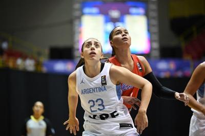 Argentina queda fuera del torneo AmeriCup femenino por el covid-19