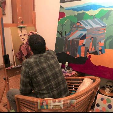 Tito Calavera y su arte pop expresionista