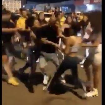 """Captan en vídeo tremendo """"sal pa' fuera"""" en Puerto Nuevo"""