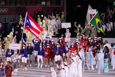 Puerto Rico brilla en la ceremonia de inauguración de los Juegos Olímpicos en Tokio