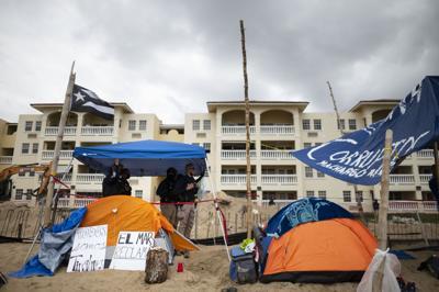 El condominio Sol y Playa