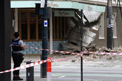 Un sismo de magnitud 5.8 provoca algunos daños en Australia
