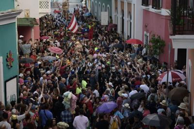 Menos participación en tercer día de las Fiestas de la Calle San Sebastián
