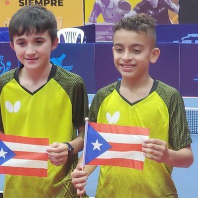 Puerto Rico se proclama campeón juvenil de América en tenis de mesa