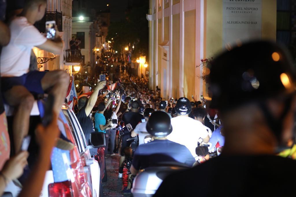 Motoras entraron al Viejo San Juan al burlar los agentes