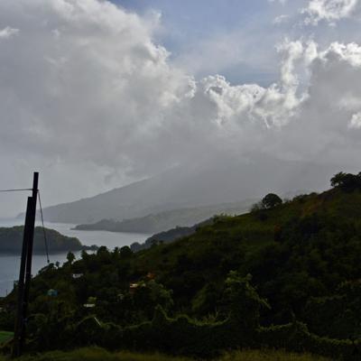 No llegarían a Puerto Rico las cenizas de La Soufriere
