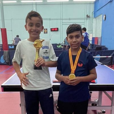 Oro y plata para tenimesistas juveniles puertorriqueños
