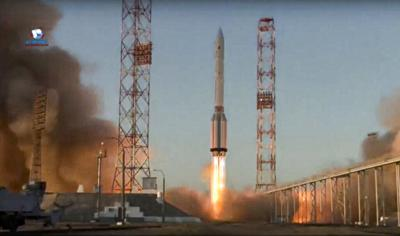 Rusia envía un módulo científico a la Estación Espacial