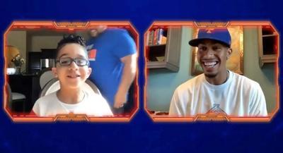 Francisco Lindor le hizo el día a niño boricua fanático de los Mets