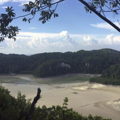 México ve desaparecer lagos de sus selvas por menos lluvias
