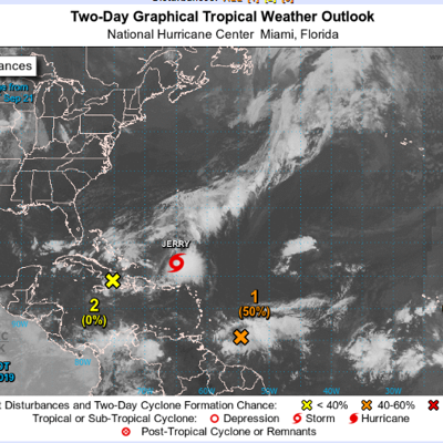 Onda con mediano desarrollo ciclónico podría afectar la Isla