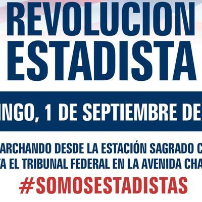 Convocan participación de marcha estadista el 1 de septiembre