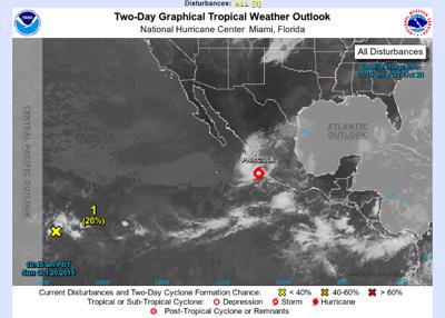 Tormenta tropical podría dejar fuertes lluvias en México