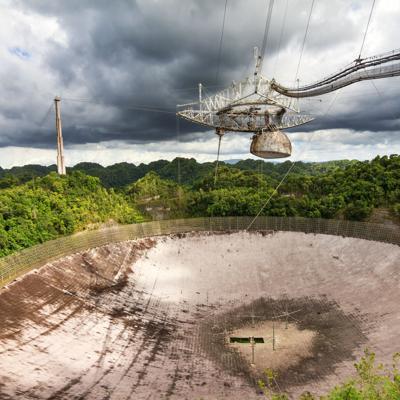 Buscan respuestas a derrumbe de radiotelescopio de Arecibo