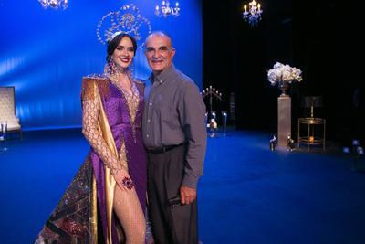 Estefania Soto y padre