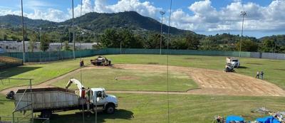 Alcalde de San Lorenzo anuncia mejoras al parque de Doble A