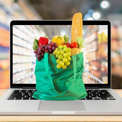 Se mantiene la compra de alimentos online