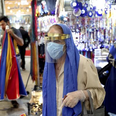 Irán reporta 5,000 casos de coronavirus en un día