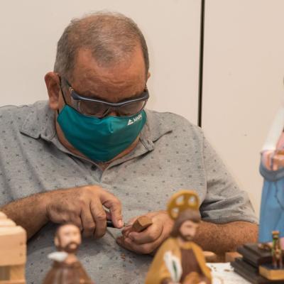Extienden exhibición artesanal en Plaza Las Américas