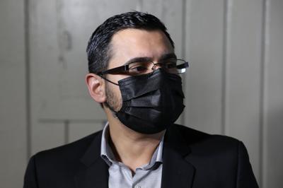 Olvin Valentín, comisionado electoral MVC