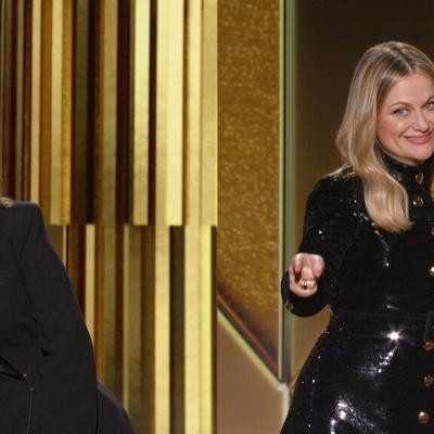 En pantalla dividida, Fey y Poehler inauguran Globos de Oro