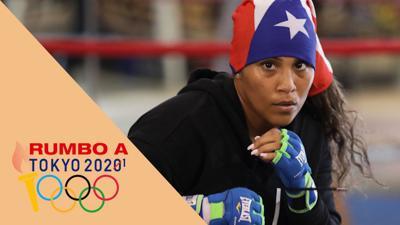 Kiria Tapia no se quita del sueño olímpico