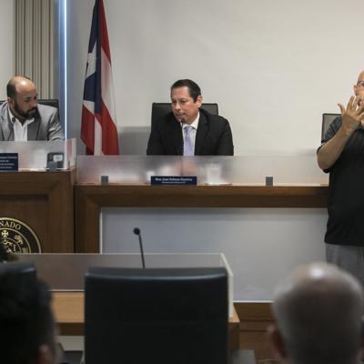 Mal rato en el Senado por falta de un intérprete