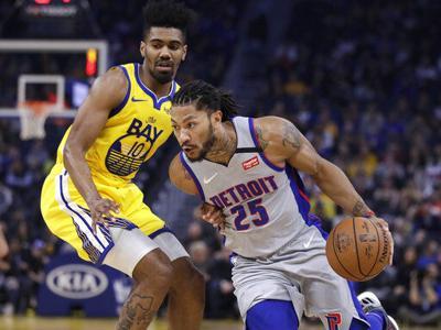 Pistons vence a Warriors y rompe racha de tres derrotas