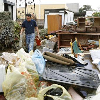 Rescatistas hallan más víctimas y daños tras tifón en Japón