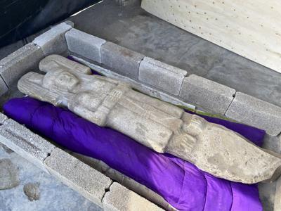 Una estatua de una mujer prehispánica remplazará la de Cristóbal Colón en México
