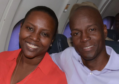 Regresa a Haití la esposa del presidente asesinado Jovenel Moïse