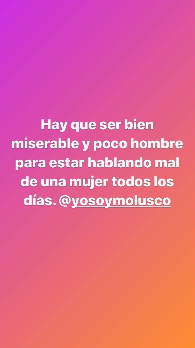 Story de Jacky Fontánez contra El Molusco