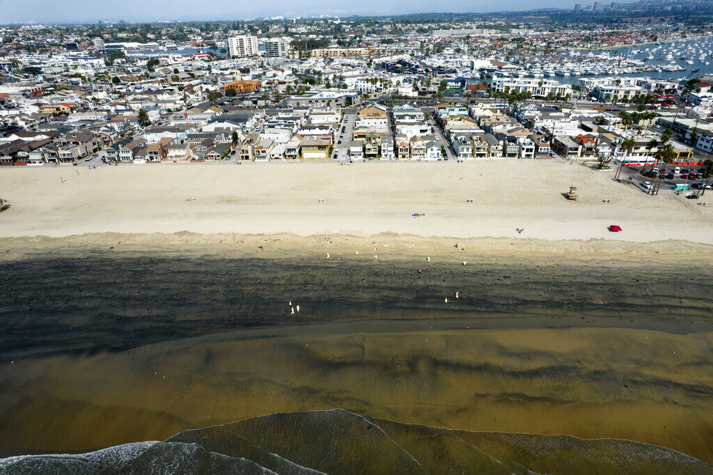 California derrame de petróleo