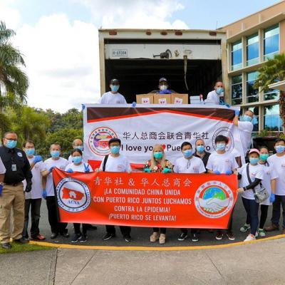 Donan artículos de primera necesidad para enfrentar el coronavirus
