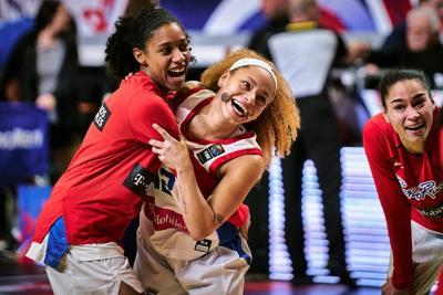 El básquet femenino sacó la cara por la Federación de Baloncesto