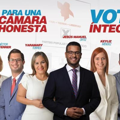 Candidatos del PPD a la Cámara van tras voto integro