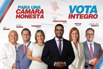 Candidatos del PPD a la Cámara van tras voto íntegro