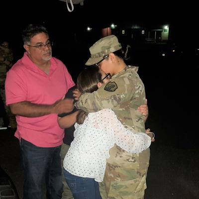Soldados boricuas parten hacia Afganistán