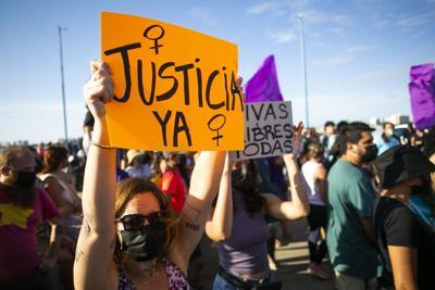 Manifestación, Violencia de Género