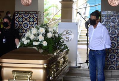 Norberto Gonzalez exequias