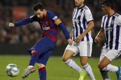 Messi lidera triunfo del FC Barcelona
