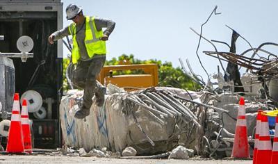 Ingeniero advierte que el sitio donde estuvo el edificio Champlain en Miami todavía no es seguro