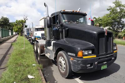 Caravana de camioneros