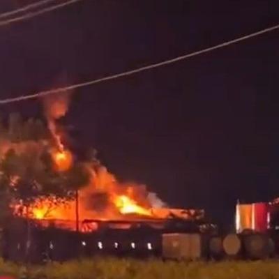 Reportan incendio de grandes proporciones en Yabucoa