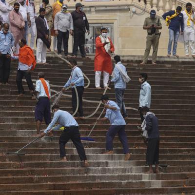 India reporta otro récord diario de casos de coronavirus