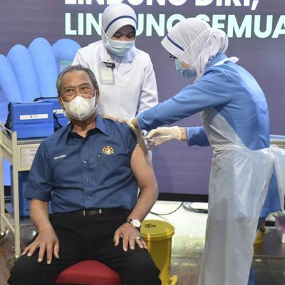 Países asiáticos inician vacunación contra el coronavirus