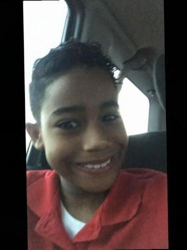 Michael E. Javois de 7 años de edad.