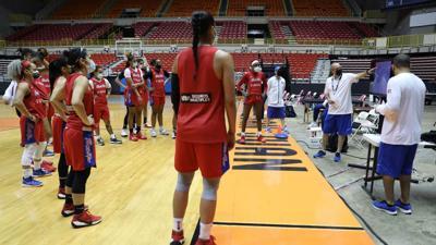 Inoculada la preselección olímpica femenina de baloncesto