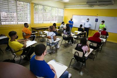 Inician las clases presenciales en varias instituciones educativas